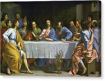 The Last Supper Canvas Print by MotionAge Designs