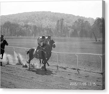 The Montpelier Hunt Races Canvas Print