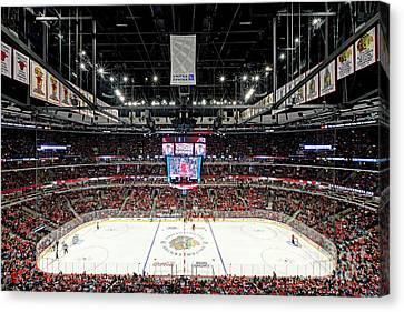 1305 United Center Chicago Blackhawks Canvas Print