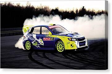 Subaru Impreza Canvas Print - 138655 Subaru Impreza by Mery Moon