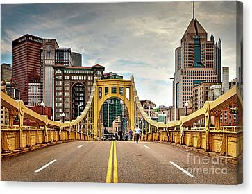 Clemente Canvas Print - 1397 Roberto Clemente Bridge by Steve Sturgill