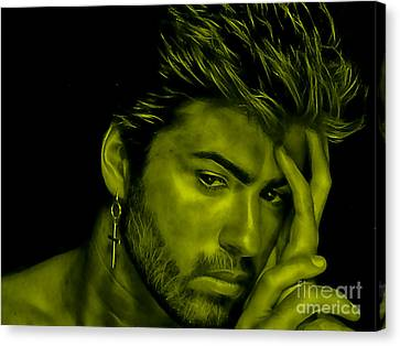 George Michael Collection Canvas Print