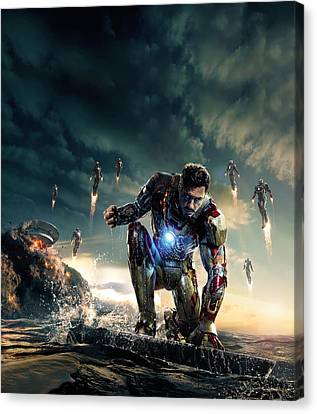 Iron Man 3 Canvas Print by Unknown