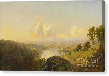 Landscape Canvas Print by MotionAge Designs