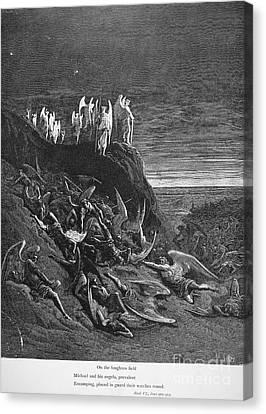 Milton: Paradise Lost Canvas Print by Granger