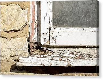 Ledge Canvas Print - Old Window by Tom Gowanlock