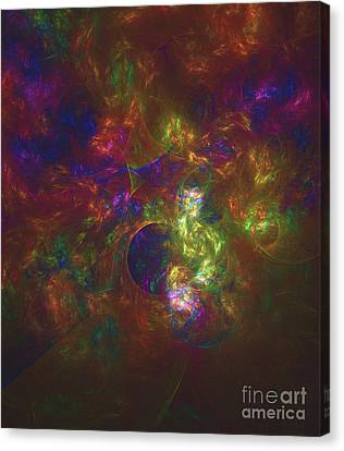 Divine Proportions Canvas Print - Patterns Of Life By Rt by Raphael Terra