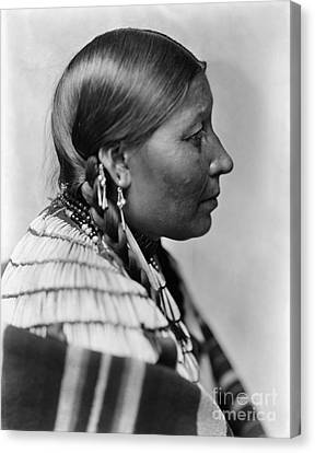 Sioux Native American, C1900 Canvas Print by Granger