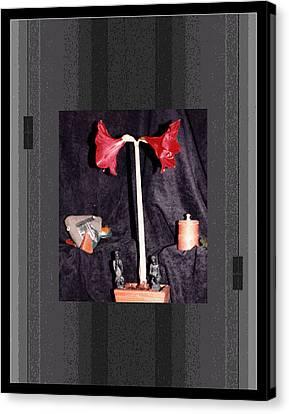 Digital Artistry Canvas Print by Stephen Proper Gredler