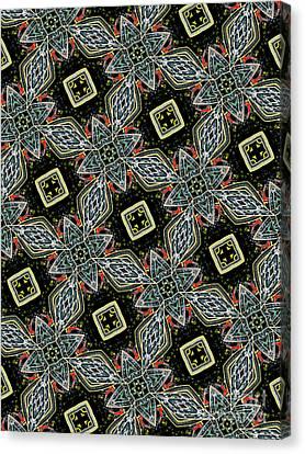 Kaleidoscope Canvas Print - Unique Design Pattern by Amy Cicconi