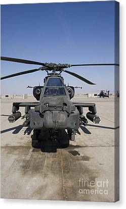 An Ah-64d Apache Longbow Block IIi Canvas Print by Terry Moore