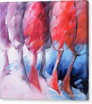 15 Arbres Canvas Print by Beatrice BEDEUR