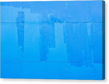 Blue Metal Canvas Print