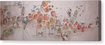 Garden  Of  Plenty  Album  Canvas Print