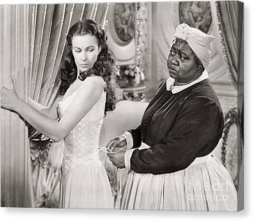 African American Canvas Print - Gone With The Wind, 1939 by Granger