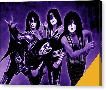 Kiss Collection Canvas Print
