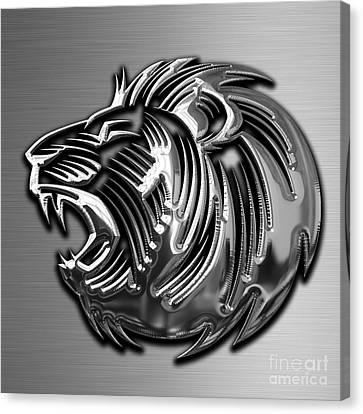 Big Cat Canvas Print - Lion Collection by Marvin Blaine