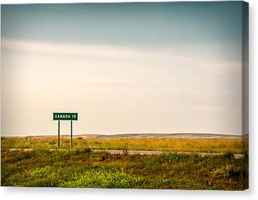 15 Miles From The Border Canvas Print