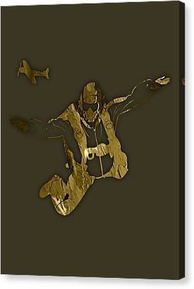 Skydiving Collection Canvas Print