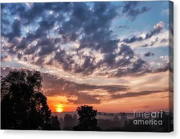 Sunrise Drama Canvas Print