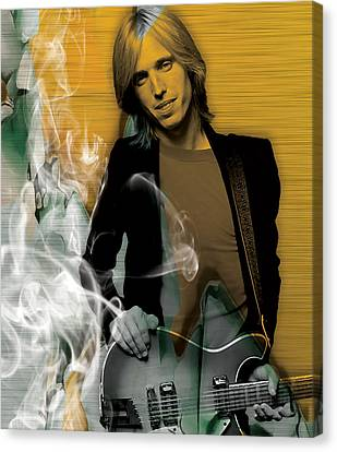 Heartbreaker Canvas Print - Tom Petty Collection by Marvin Blaine