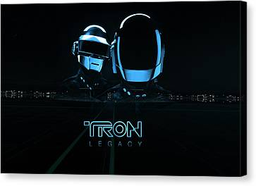 15548 Tron Legacy Canvas Print by F S