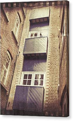 Ledge Canvas Print - Balconies by Tom Gowanlock