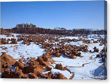 Goblin Valley Canvas Print by Mark Smith