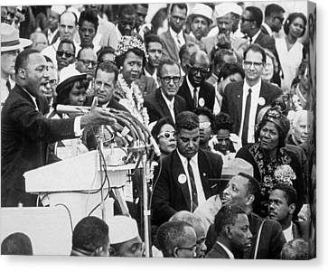 Martin Luther King Jr Canvas Print