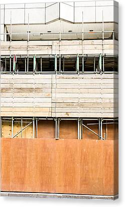 Industrial Concept Canvas Print - Scaffolding by Tom Gowanlock