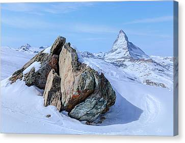 Bahn Canvas Print - Zermatt - Switzerland by Joana Kruse