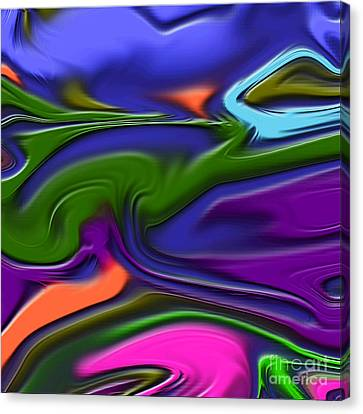 1691 Abstract Thought Canvas Print