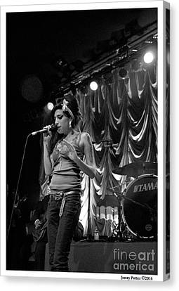 Amy Winehouse Photo 30 Canvas Print