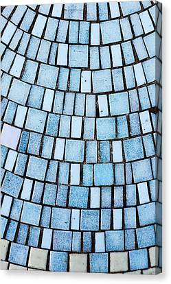Blue Tiles Canvas Print by Tom Gowanlock