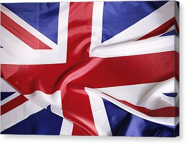 British Flag Canvas Print by Les Cunliffe