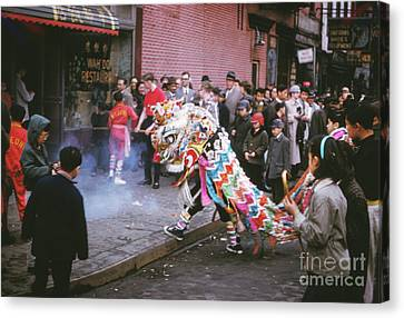 Chinese New Year 1963 Canvas Print by The Harrington Collection