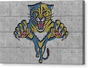 Florida Panther Canvas Print - Florida Panthers by Joe Hamilton