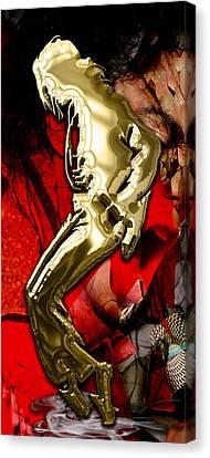 Jackson 5 Canvas Print - Michael Jackson Collection by Marvin Blaine
