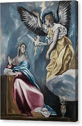 The Annunciation Canvas Print by El Greco