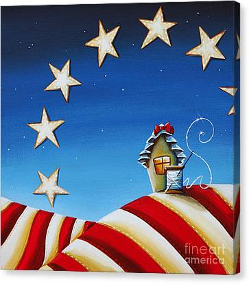 Sewing Canvas Print - 1776 by Cindy Thornton