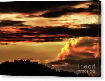 Appalachian Sunset Canvas Print