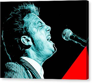 Musicians Canvas Print - Billy Joel Collection by Marvin Blaine