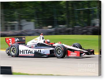Indycar Racing Indianapolis 500 Canvas Print by Douglas Sacha