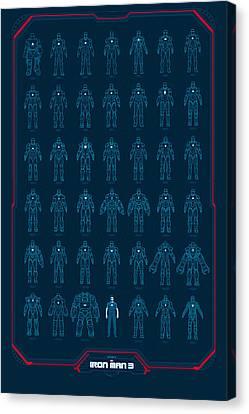 Iron Man 3 Canvas Print