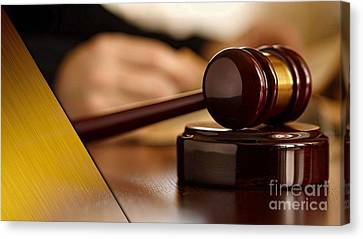 Law Office Collection Canvas Print
