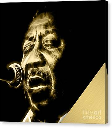 Muddy Waters Collection Canvas Print by Marvin Blaine