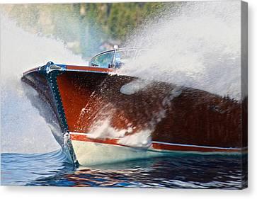 Portofino Italy Canvas Print - Riva Wake by Steven Lapkin