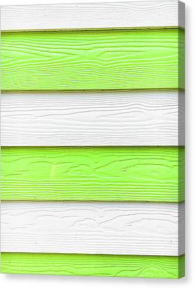 Wooden Panels Canvas Print by Tom Gowanlock