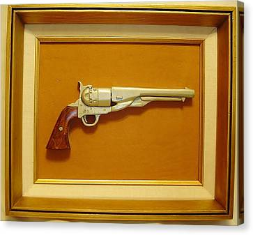 1851 Colt Canvas Print by Russell Ellingsworth