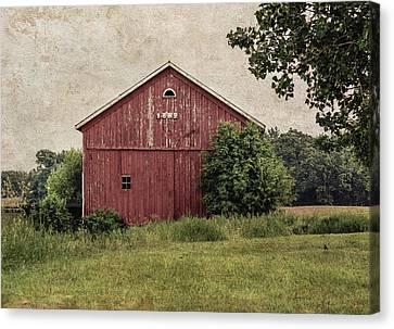 Franklin Farm Canvas Print - 1869 by Kim Hojnacki